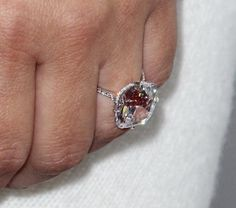 Lorraine Schwartz D flawless cushion cut 15 carat engagement ring. Kanye wanted it to look like the diamond was floating on Kim's finger!