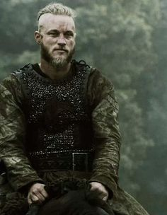 Ragnar Lothbrok, atop a horse. While waiting for Aella to finally deliver on his promise.