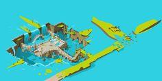wakfu MMO: bashquale area by Sevpoolay.deviantart.com on @deviantART