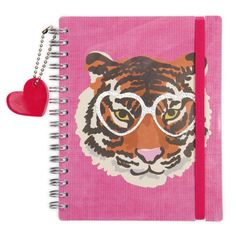 Wild At Heart thick A5 notebook