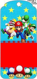281 Best Mario Birthday Printables Images Super Mario Birthday