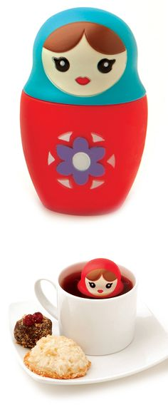 Matryoshka Tea Infuser #stockingstuffer