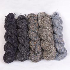 500g *Pure DONEGAL TWEED WOOL* Aran.Grey.knitting yarn.100%.Irish.worsted.pure.R | eBay