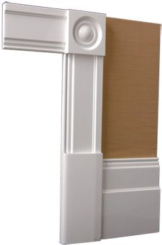 Classic architraves victorian architectural and for Decorative door frame ideas