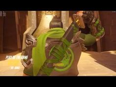 Genji goes 10-1 in a 1:56 attack on Temple of Anubis