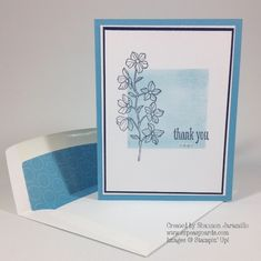 Clean and Simple Saturday - A Peaceful Thank You — EZPeasyCards
