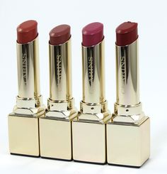 Sneak Peek: Clarins Rouge Prodige True Colour & Shine Lipstick (4 New Shades for Fall)