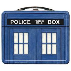 TARDIS Lunch Box