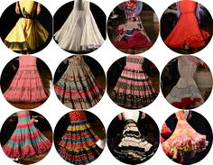 Tendencias 2014. CANASTEROS Trumpet Skirt, Costume, Vintage Outfits, Flamenco Dresses, Style, Mermaids, Cloths, Spain, Skirts