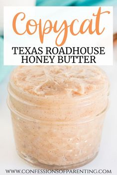 Texas Roadhouse Butter, Texas Roadhouse Sweet Potato Recipe, Honey Butter Recipe Texas Roadhouse, Copycat Recipes Texas Roadhouse, Texas Roadhouse Rolls, Snack Recipes, Dessert Recipes, Cooking Recipes, Dessert Bread