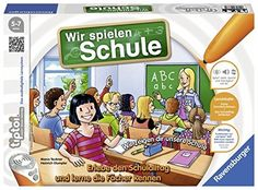 Ravensburger 00733 - Tiptoi Wir spielen Schule: Amazon.de: Spielzeug Sims, Products, Strand, Sons, Dolphins, German Language, Paper Mill, English Games, Play Based Learning