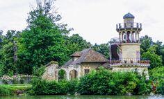 Jardines de Maria Antonieta en Versalles Francia