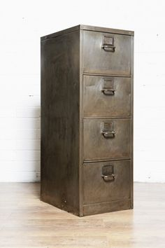 How To Repaint A Metal Filing Cabinet Pinterest Metals