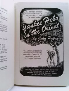 Yankee hobo in the Orient,