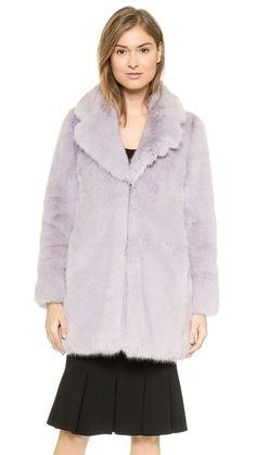 Whistles Kumiko Fur Coat