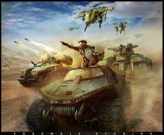 Halo Wars concept art