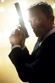 Daniel Craig as James Bond - Skyfall