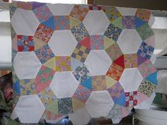 Jacks Chain (Quilt pattern) - The Tutorial -- Excellent!