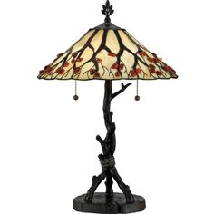 Quoizel AG711TVA, Agate Portable, 2-Light Table Lamp, Bronze *** Check out this great product. (This is an affiliate link) #TableLamps