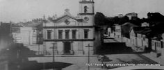 1925 - Igreja velha da Penha, bairro da Penha.