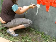 Plus de 1000 id es propos de fresques murales et d cor for Pose mosaique murale
