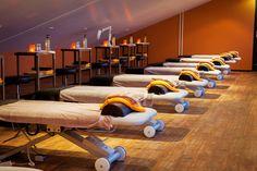 Locatie Veluwse Bron praktijk gedeelte , wellness massage, sportmassage en diverse cursussen