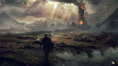 Middle Earth Shadow of Mordor wallpaper hd