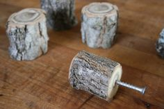 Stump Branch Pulls by DeepBrightHomeGoods on Etsy, $24.00