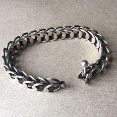 Hans Hansen Sterling Silver Modernist Bracelet