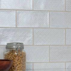 "EliteTile Biarritz Series 3"" x 6"" Ceramic Brick Look Subway Tile & Reviews | Wayfair Best Floor Tiles, Wall And Floor Tiles, Ceramic Subway Tile, Subway Tiles, Marble Mosaic, Glass Mosaic Tiles, Mosaic Wall, Fireplace Facade, Wood Look Tile"