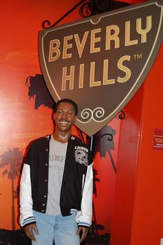 Axel Foley - Madame Tussauds Wax museum, Hollywood