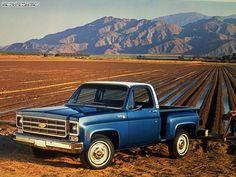 1977-78 Chevrolet C10 Cheyenne Stepside