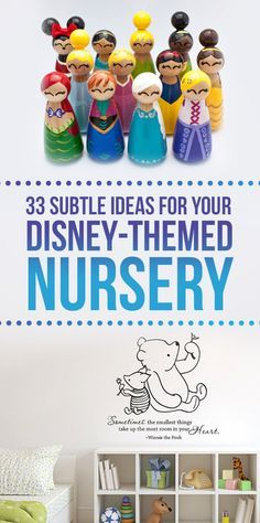 33 Magical Ideas For A Disney-Themed Nursery...Pinning for the Classic Pooh ideas
