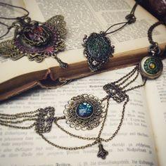 Daran arbeite ich gerade #julihoernchen #schmuck #victorian #steampunk #steampunkjewelry #nostalgie #nostalgisch #dawanda