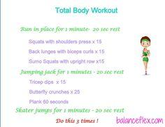 Monday Workout! // Routine du lundi