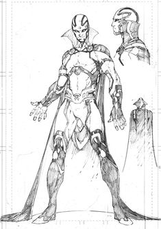 Mister Miracle character study by Brett Booth Comic Book Pages, Comic Book Artists, Comic Artist, Comic Books Art, New 52, Comic Character, Character Design, Brett Booth, Comic Book Drawing