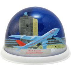JFK International Airport Snow Globe | snowdomes.com