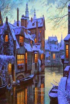Брюгге, Бельгия  #мирпрекрасен #мир_необычного #amazing #пейзаж #beautiful #beautifulpictures #шедевры_вселенной #красивый_пейзаж #природа #красота #мирпрекрасен #beauty #beautiful #naturek #landscape