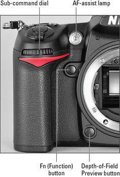 Nikon D7000 For Dummies Cheat Sheet - For Dummies
