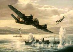 Bristol Beaufighter attack.