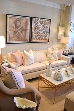 Inviting interior decor
