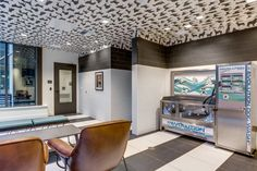 Kiara apartment tower opens in South Lake Union South Lake Union, Dog Spa, Dog Wash, Kitchen Cabinets, Furniture, Tower, Park, Google Search, Home Decor