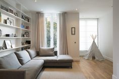 Talbot Road by Ardesia Design Small Living Rooms, Living Room Bedroom, Home Bedroom, Living Room Decor, Cozy Living, Modern Living, English Interior, Boho Kitchen, Bohemian Style Bedrooms