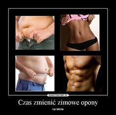 Jak schudnąć z brzucha? Excercise, Personal Trainer, Fitness Inspiration, Health Fitness, Funny Memes, Relationship, Humor, Motivation, Words