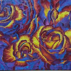 Items similar to Canvas oil Irina Pavlova-violet Roses cm * 50 cm) on Etsy Craft Supplies, Best Gifts, Handmade Items, Canvas, Pictures, Etsy, Painting, Design, Art