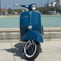 Vespa Super de 1965 Blu pétrolio