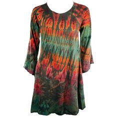 Jayli Imports, Inc. Store - Cotton Long Sleeve Mudmee Tie Dye Mini Dress with Keyhole Back, (http://www.jayli.com/cotton-long-sleeve-mudmee-tie-dye-mini-dress-with-keyhole-back/)