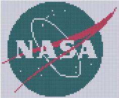 NASA Cross Stitch Pattern