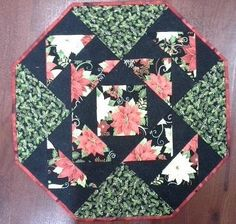 (7) Name: 'Quilting : Holiday Table Center and mats