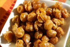 Crunchy Roasted Garbanzo beans